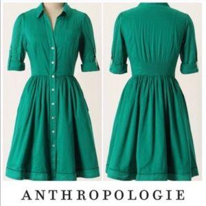 Anthropologie Moulinette Soeurs Reed Shirtdress